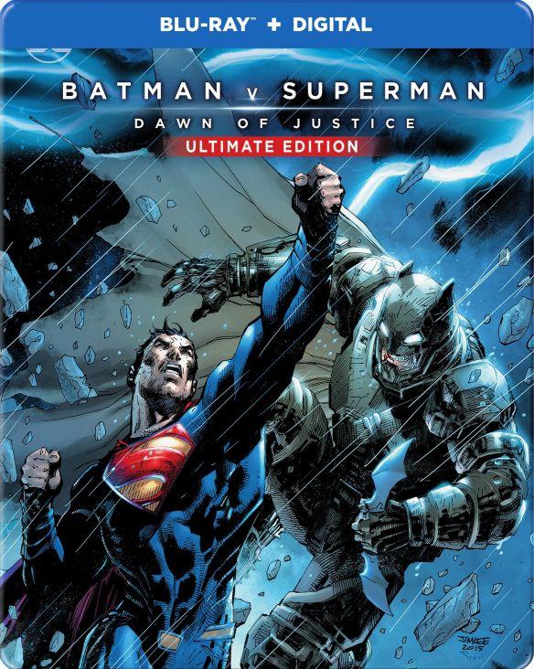Batman v Superman: Dawn of Justice [SteelBook] [Ultimate] [Blu-ray] [2016] 6097307