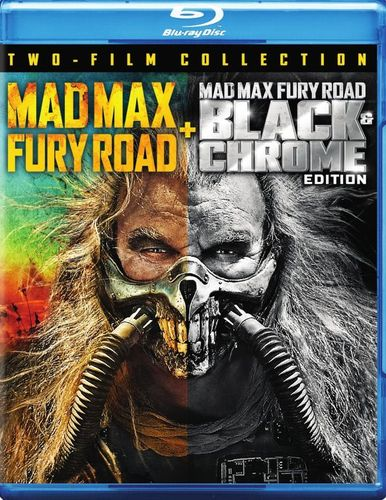 Mad Max: Fury Road/Mad Max: Fury Road - Black & Chrome Edition [Blu-ray] [2015] 6097329