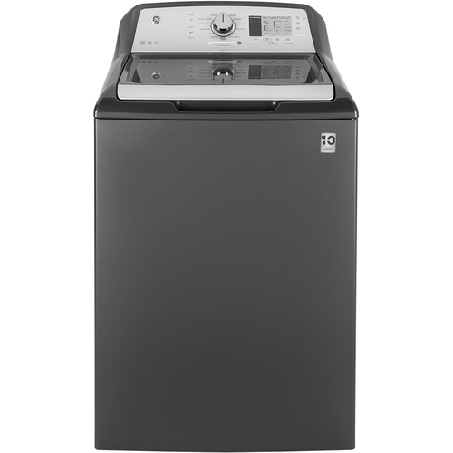 GE 4.6 cu. ft. High-Efficiency Diamond Gray Top Load Washing Machine and Wi-Fi Connected, ENERGY STAR
