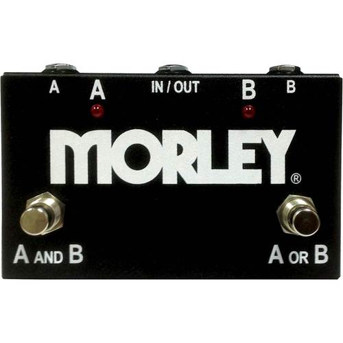 Morley - ABY Selector/Combiner Switch for Electric Guitars - Black 6098755