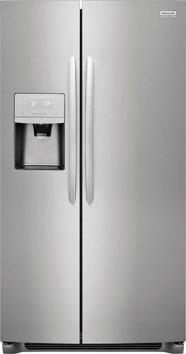 Frigidaire - 22.2 Cu. Ft. Counter-Depth Refrigerator - Stainless steel 609880