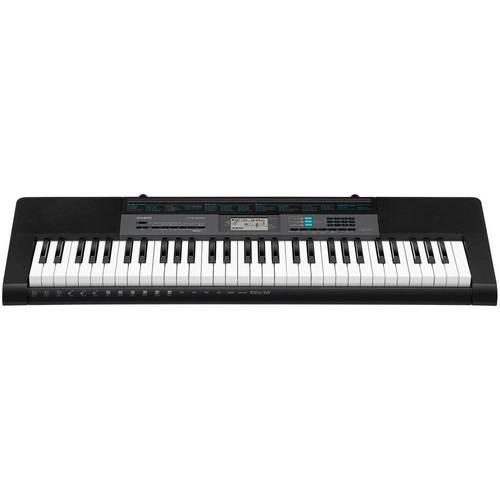 Casio - Portable Keyboard with 61 Keys - Black