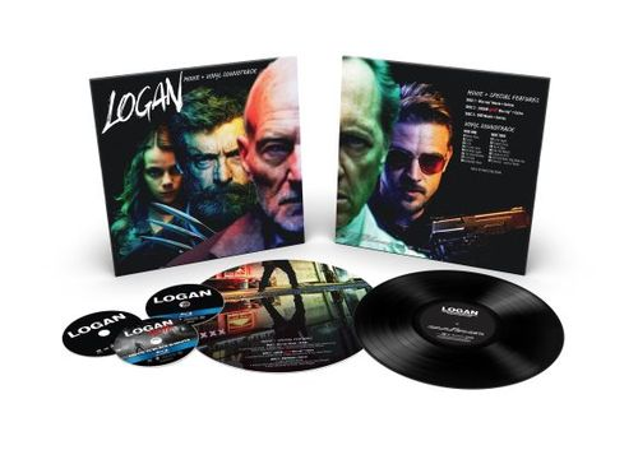 Logan [Includes Vinyl] [Blu-ray] [2017] 6099004