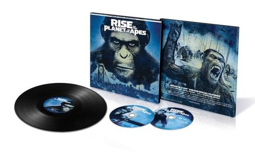 Rise of the Planet of the Apes [Includes Vinyl] [Includes Digital Copy] [UltraViolet] [Blu-ray] [2011] 6099007