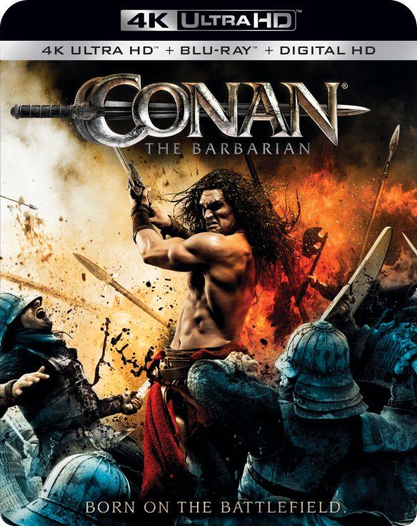 Conan the Barbarian [4K Ultra HD Blu-ray] [2 Discs] [2011] 6099011