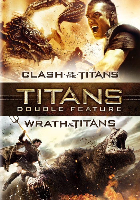 Clash of the Titans/Wrath of the Titans [2 Discs] [DVD] 6099024