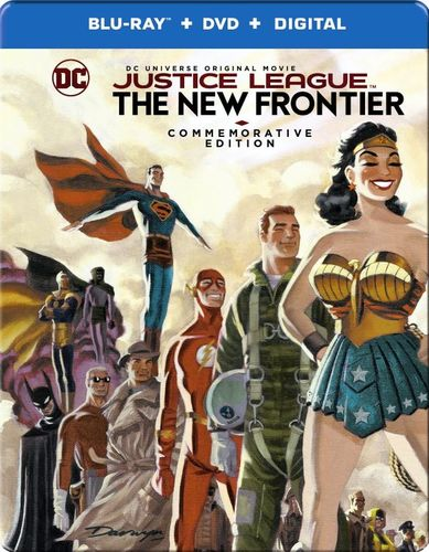 Justice League: The New Frontier [Commemorative Edition] [SteelBook] [Blu-ray] [2008] 6099600