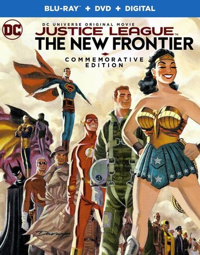 Justice League: The New Frontier [Commemorative Edition] [Blu-ray] [2008] 6099601