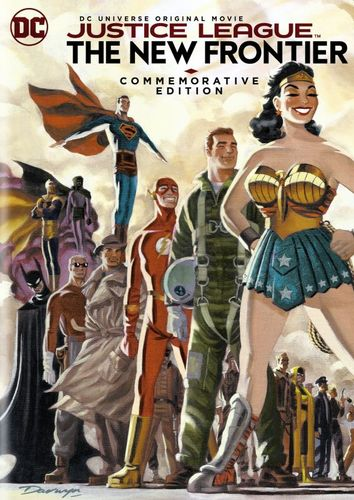 Justice League: The New Frontier [Commemorative Edition] [DVD] [2008] 6099602
