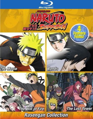 Naruto Shippuden the Movies: Rasengan Movie Collection [Blu-ray] 6099607