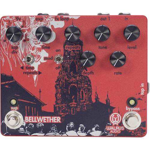 Walrus Audio - Bellwether Analog Delay with Tap Tempo for Electric Guitars 6100030