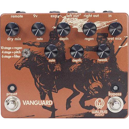 Walrus Audio - Vanguard Dual Phase - Series Phaser for Electric Guitars 6100041