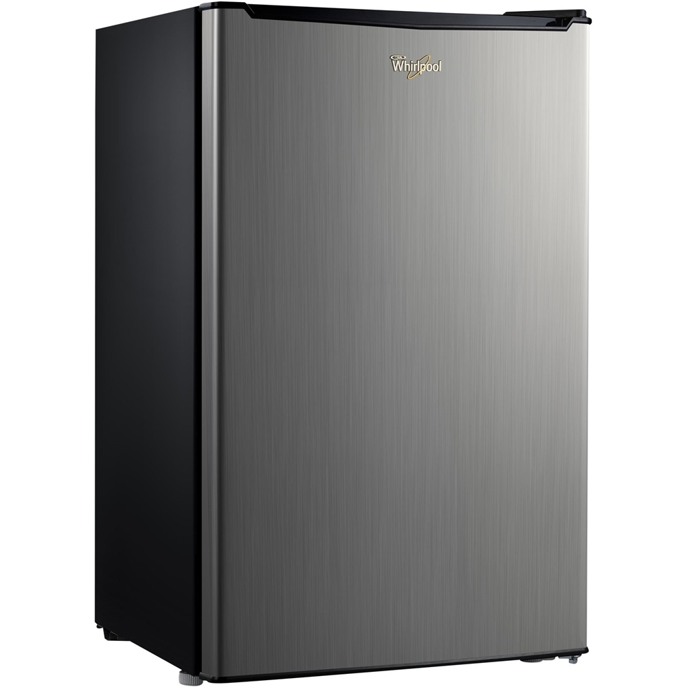 Whirlpool WH35S1E 3.5 Cu. Ft. Mini Fridge Stainless Steel Look ...