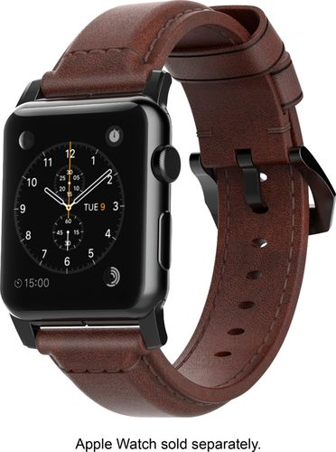Nomad - Classic Leather Watch Strap for Apple Watch™ 38mm - Brown