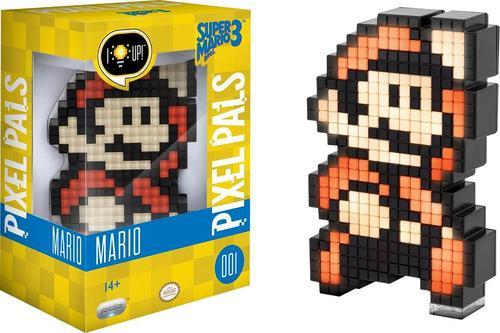 PDP - PIXEL PALS NIntendo Super Mario Bros 3 Mario - Black/red/brown