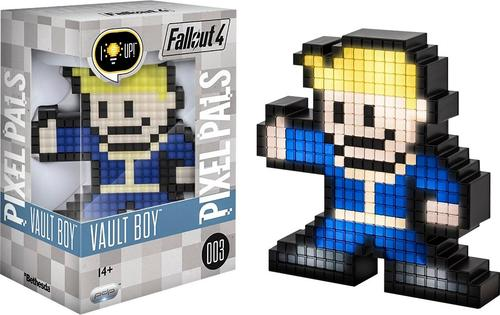 PDP - PIXEL PALS Bethesda Fallout 4 Vault Boy - Black/blue/yellow/brown