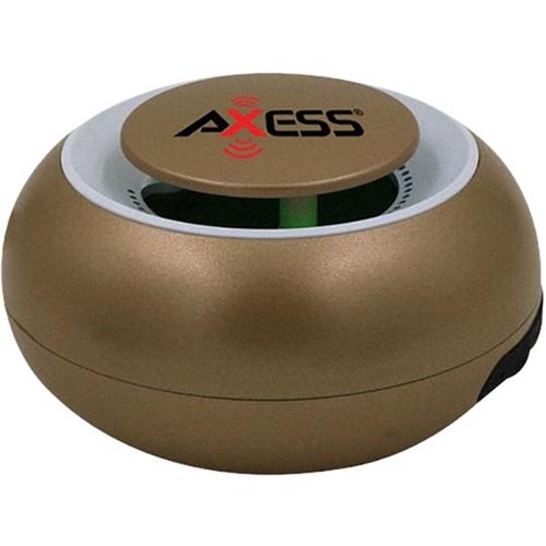 AXXESS - SPBW1048 Portable Bluetooth Speaker - Gold 6110382