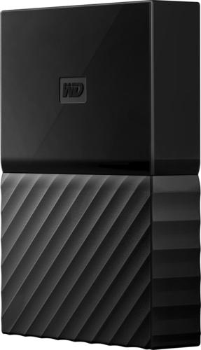 WD - My Passport Portable Gaming Storage for PS4 4TB External USB 3.0 Portable Hard Drive - Black 6110902