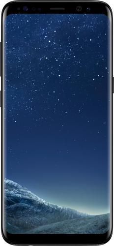 Simple Mobile Samsung Galaxy S8 LTE Prepaid Smartphone, Black