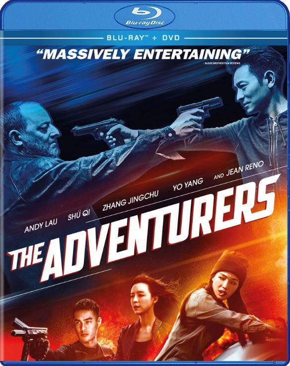 The Adventurers [Blu-ray/DVD] [2 Discs] [2017] 6111354