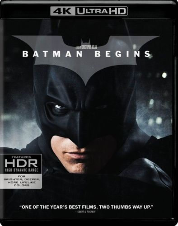 Batman Begins [4K Ultra HD Blu-ray/Blu-ray] [2005] 6111518