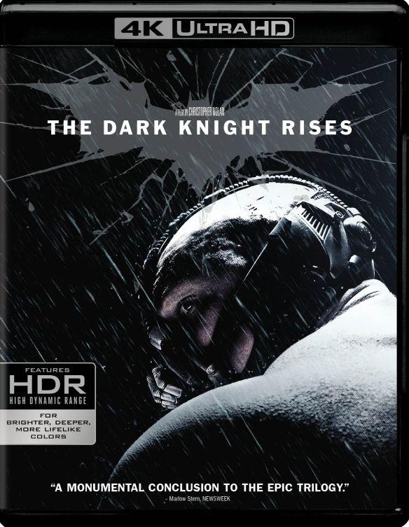 The Dark Knight Rises [4K Ultra HD Blu-ray/Blu-ray] [2012] 6111520