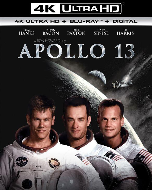 Apollo 13 [Includes Digital Copy] [UltraViolet] [4K Ultra HD Blu-ray] [2 Discs] [1995] 6111524