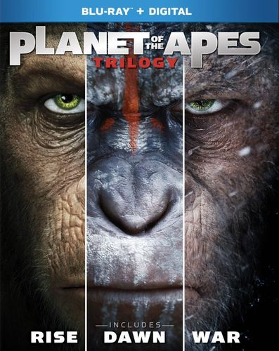 Planet of the Apes Trilogy [Includes Digital Copy] [Blu-ray] 6111534