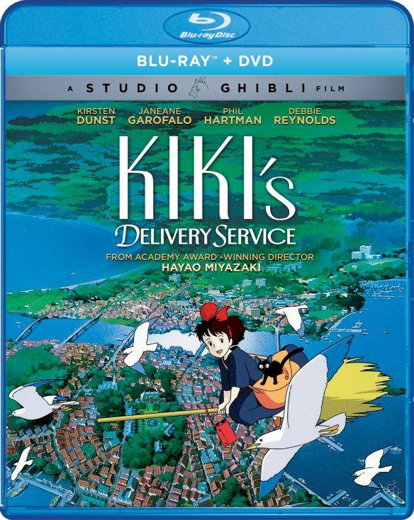 Kiki's Delivery Service [Blu-ray/DVD] [2 Discs] [1989] 6111638