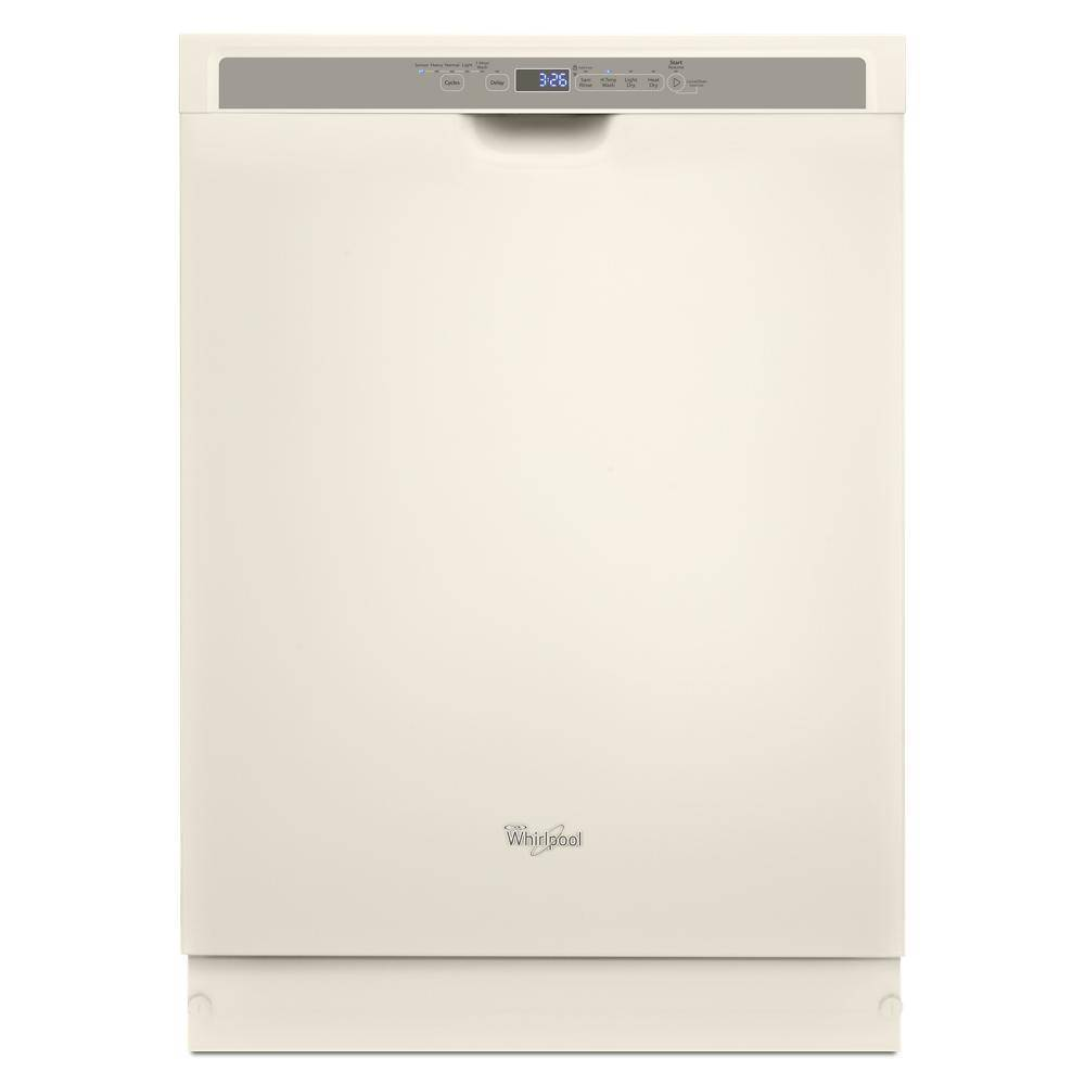 "Whirlpool 24"" Tall Tub Built-In Dishwasher with Stainless Steel Tub Biscuit WDF560SAFT"