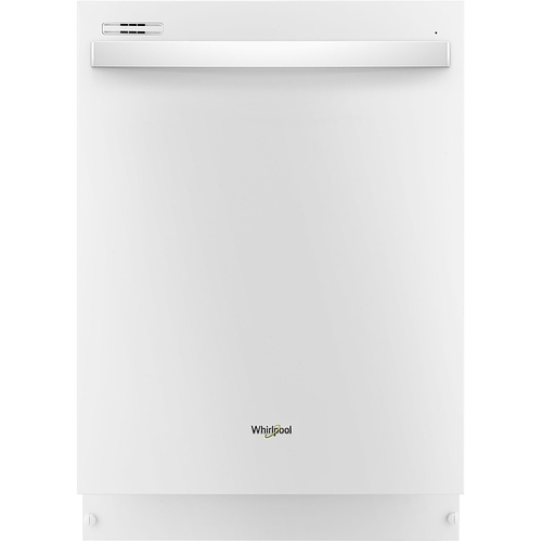 Whirlpool Top Control Built-In Tall Tub Dishwasher in White with Sensor Cycle, 51 dBA