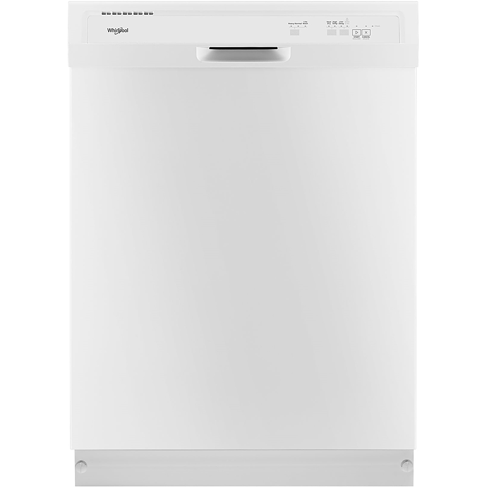 "Whirlpool 24"" Tall Tub Built-In Dishwasher White WDF331PAHW"