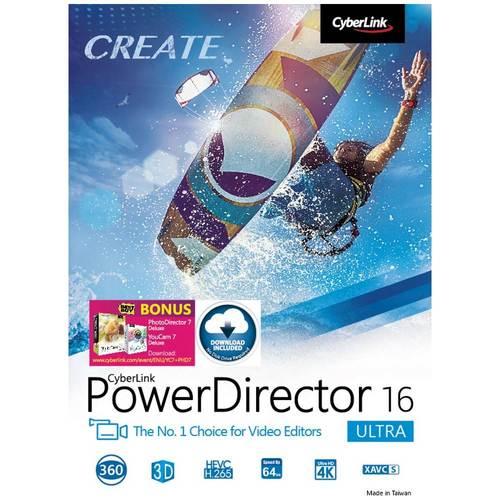 PowerDirector 16 Ultra...