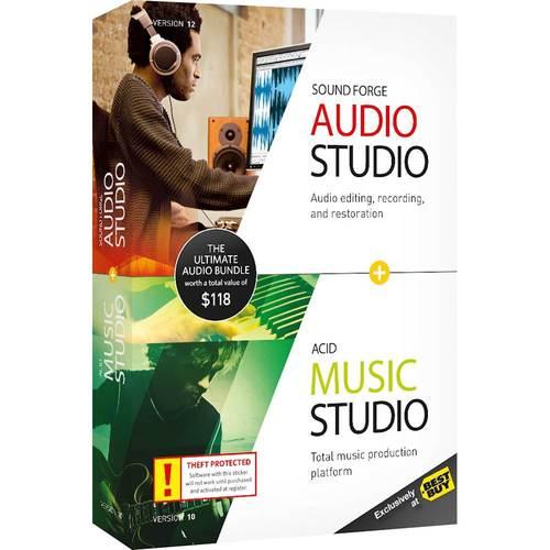 SOUND FORGE Audio Studio...