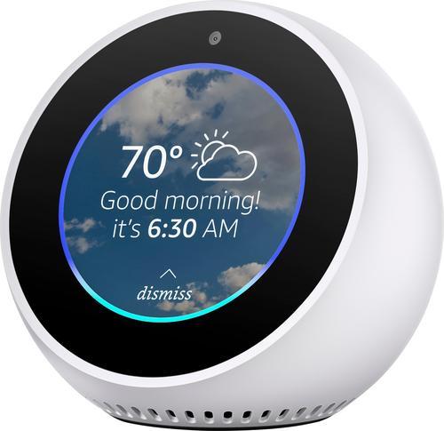 Amazon - Echo Spot -...
