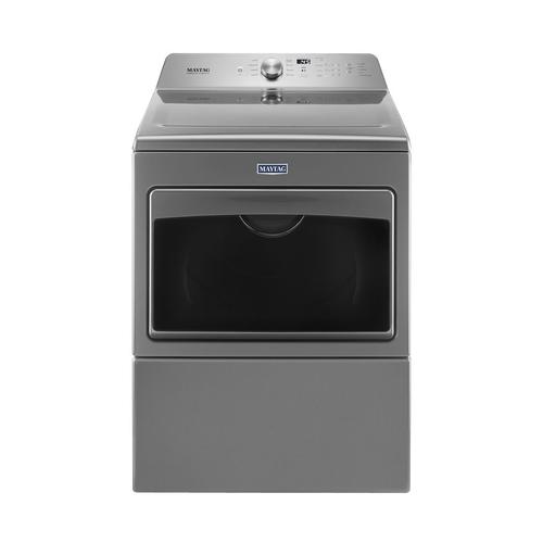 Maytag - 7.4 Cu. Ft. 9-Cycle Gas Dryer - Metallic Slate