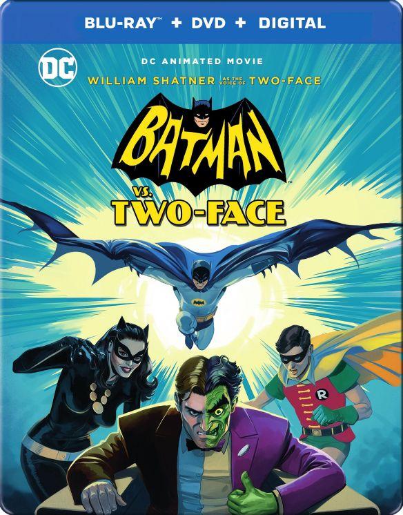 Batman vs. Two-Face [SteelBook] [Includes Digital Copy] [Blu-ray/DVD] [Only @ Best Buy] [2017] 6116804