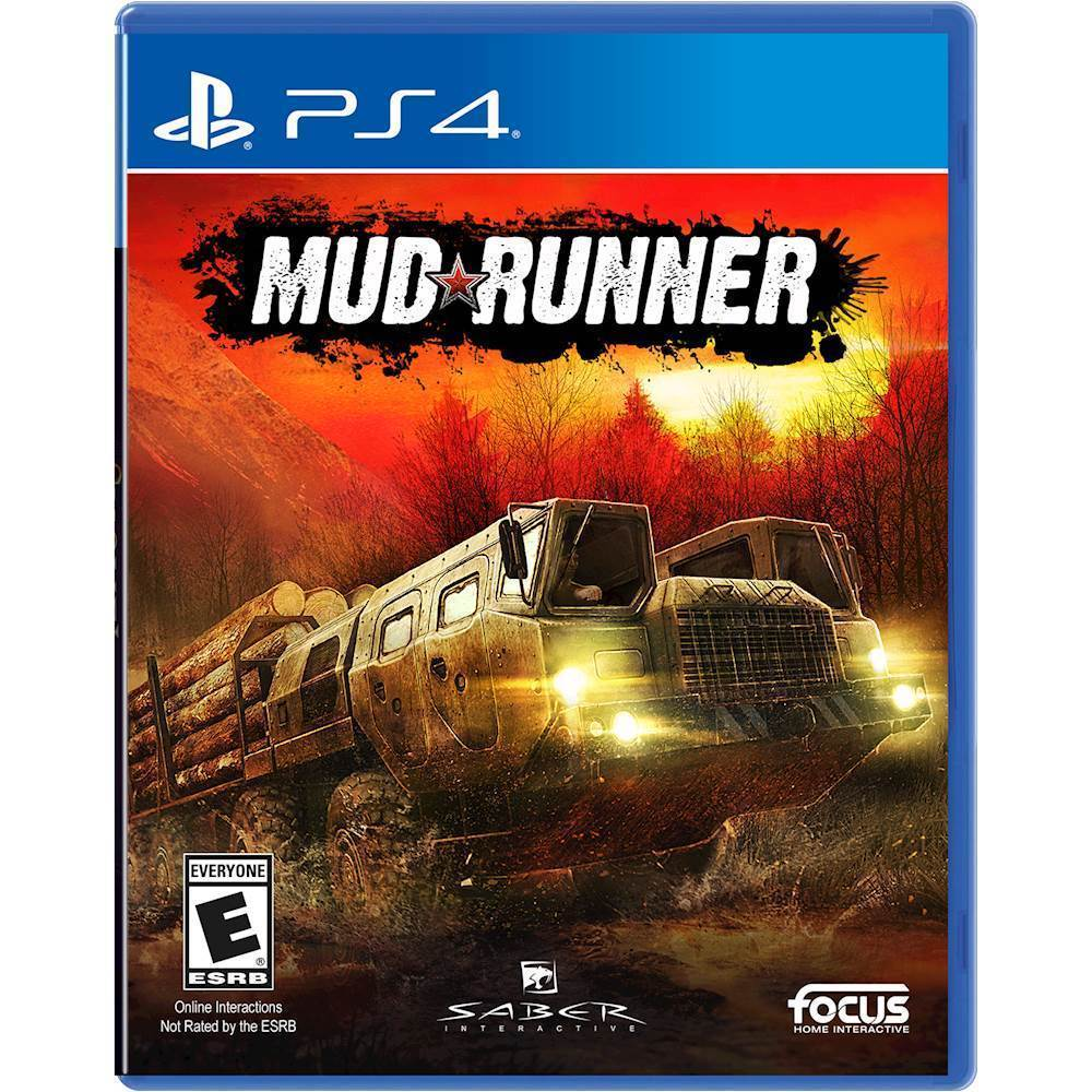 MudRunner: A Spintires game – PlayStation 4