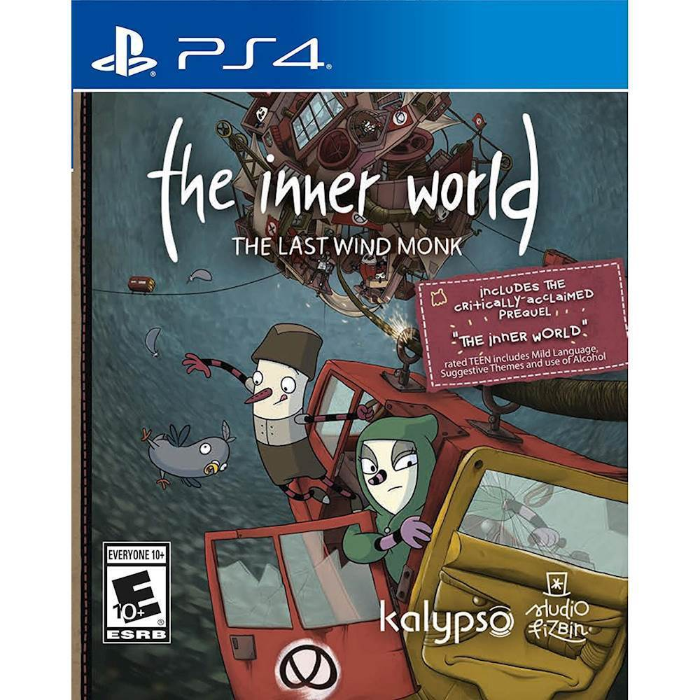 Inner World: The Last Wind Monk – PlayStation 4
