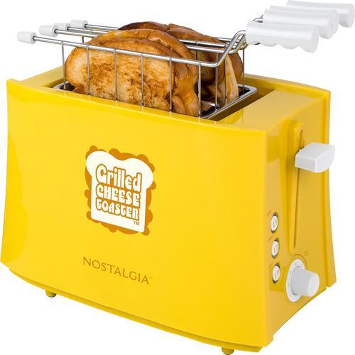 Nostalgia - Grilled Cheese Sandwich Toaster - Yellow 6121835