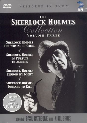 The Sherlock Holmes Collection, Vol. 3 [4 Discs] [DVD] 6122055
