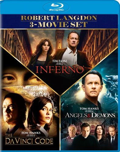 Angels and Demons/The Da Vinci Code/Inferno [Blu-ray] [3 Discs] 6123392