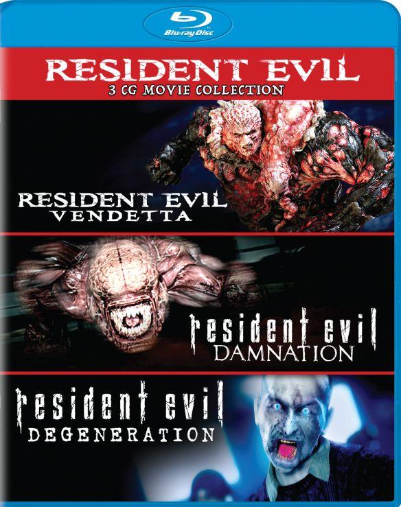 Resident Evil: Damnation/Resident Evil: Degeneration/Resident Evil: Vendetta [Blu-ray] 6123398