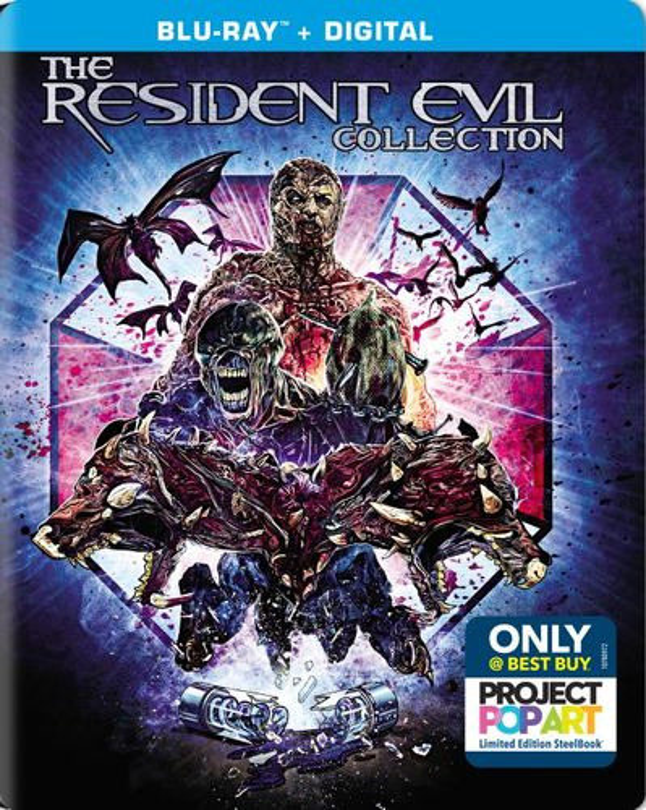 Resident Evil 6 Movie Gift Set [SteelBook] [Blu-ray] [Only @ Best Buy] 6123399