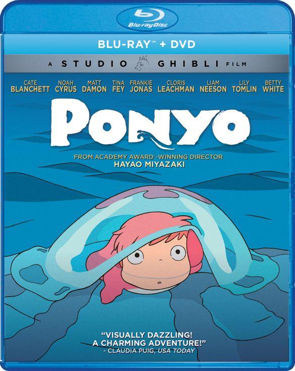 Ponyo [Blu-ray/DVD] [2 Discs] [2008] 6123601