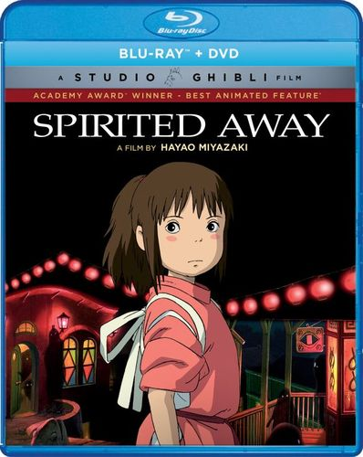 Spirited Away [Blu-ray/DVD] [2 Discs] [2001] 6123604