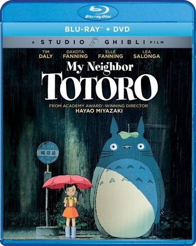 My Neighbor Totoro [Blu-ray/DVD] [2 Discs] [1988] 6123610