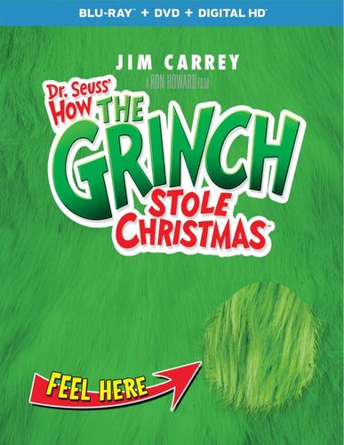 Dr. Seuss' How the Grinch Stole Christmas [Blu-ray] [2 Discs] [2000] 6123619