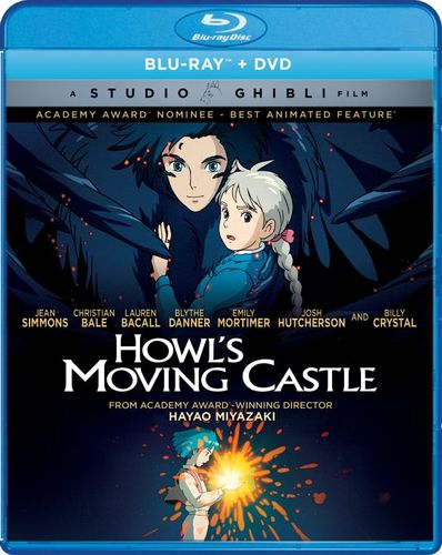 Howl's Moving Castle [Blu-ray/DVD] [2 Discs] [2004] 6123622