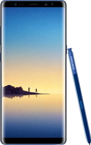 "Samsung Galaxy Note8 - Smartphone - 4G LTE - 64 GB - microSDHC slot, - microSDXC slot - CDMA / GSM - 6.3"" - 2960 x 1440 pixels (521 ppi) - Super AMOLED - RAM 6 GB (8 MP front camera) - 2x rear cameras - Android - deepsea blue"